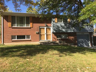 Denver Single Family Home Active: 3375 South Uinta Court