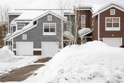 Steamboat Springs CO Condo/Townhouse Active: $485,000