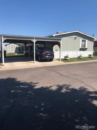 Thornton Single Family Home Active: 9595 Pecos Street #70