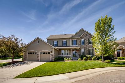 Castle Pines Single Family Home Active: 624 Horan Court
