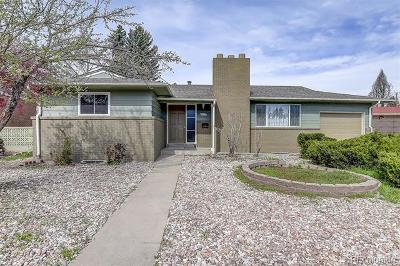Denver Single Family Home Active: 1525 South Monaco Parkway