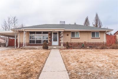 Commerce City Single Family Home Active: 5761 Tichy Boulevard