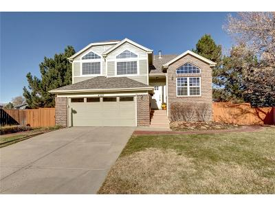 Castle Rock Single Family Home Under Contract: 4357 West Deertrail Court