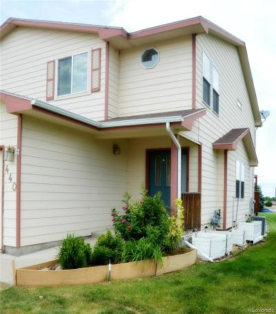 Dacono Condo/Townhouse Under Contract: 440 Sterling Lane