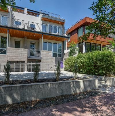 Denver Condo/Townhouse Under Contract: 3507 Osage Street