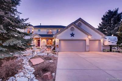 Castle Rock Single Family Home Active: 7911 Beverly Boulevard