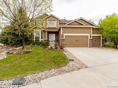 Castle Rock Single Family Home Active: 1255 Bulrush Drive