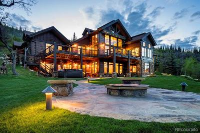 Steamboat Springs Single Family Home Active: 31050 Sweetwater Drive