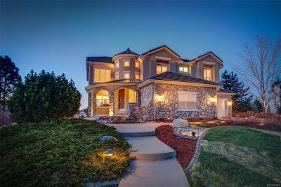 Castle Pines CO Single Family Home Under Contract: $765,000