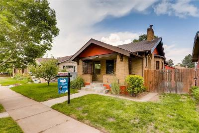 Denver Single Family Home Active: 1618 South Lincoln Street