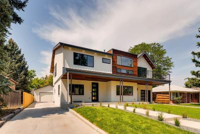 Denver Single Family Home Active: 777 Ivanhoe Street