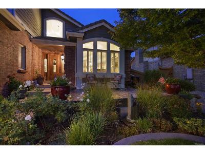 Centennial Single Family Home Active: 15722 East Crestridge Circle