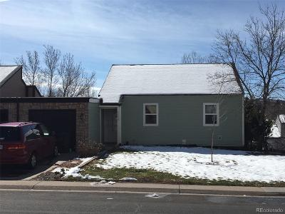 Castle Rock Condo/Townhouse Under Contract: 1348 South Street