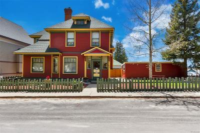 Leadville Single Family Home Active: 815 Spruce Street