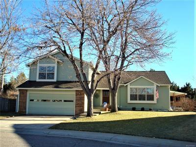 Centennial Single Family Home Under Contract: 7795 South Trenton Court