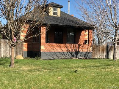 Denver Single Family Home Active: 5360 Tejon Street