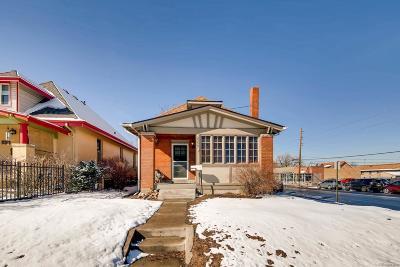 Denver Single Family Home Under Contract: 3359 North Elizabeth Street
