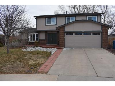 Westminster Single Family Home Under Contract: 2649 West 104th Court