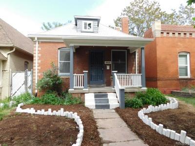 Denver Single Family Home Active: 452 South Grant Street
