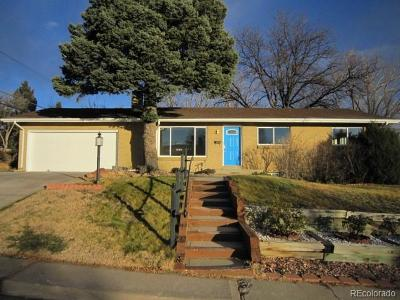 Denver Single Family Home Active: 2704 South Zurich Court