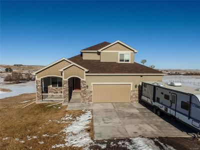 Kiowa Single Family Home Under Contract: 34727 Southern Cross Loop