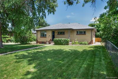Denver Single Family Home Under Contract: 3310 Forest Street
