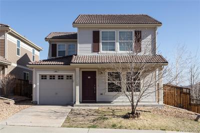 Castle Rock Single Family Home Active: 3891 Alcazar Drive