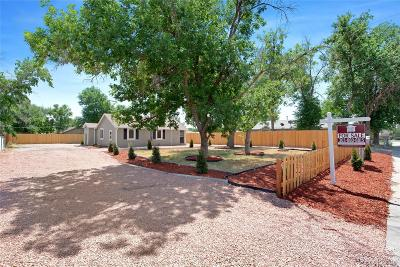 Commerce City Single Family Home Under Contract: 7040 Kearney Court