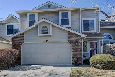 Aurora Condo/Townhouse Under Contract: 4907 South Eagle Circle