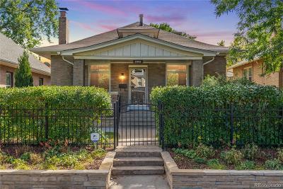 Denver Single Family Home Active: 2742 West 38th Avenue