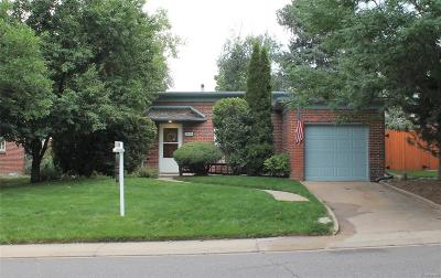 Denver Single Family Home Active: 2656 South York Street