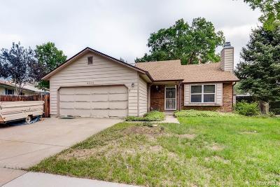 Littleton Single Family Home Active: 8606 South Estes Street