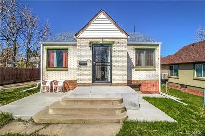Denver County Single Family Home Active: 215 South Knox Court