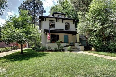 Denver Single Family Home Active: 611 Vine Street