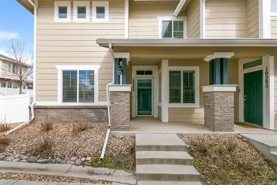 Highlands Ranch Condo/Townhouse Under Contract: 10289 Sedge Grass Way