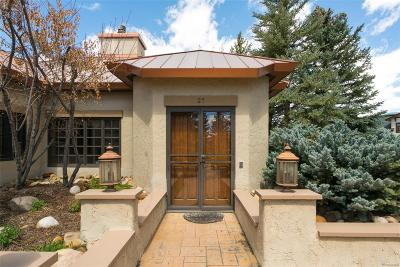 Steamboat Springs Condo/Townhouse Active: 2800 Eagle Ridge Road #27
