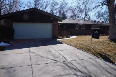 Wheat Ridge Single Family Home Under Contract: 3362 Vivian Drive
