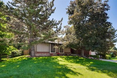 Centennial Single Family Home Under Contract: 3440 East Geddes Drive
