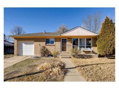 Northglenn Single Family Home Under Contract: 10737 Corona Street