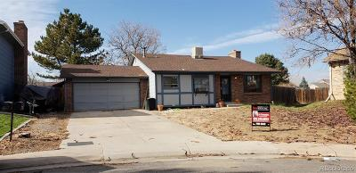 Aurora Single Family Home Under Contract: 1311 South Andes Street