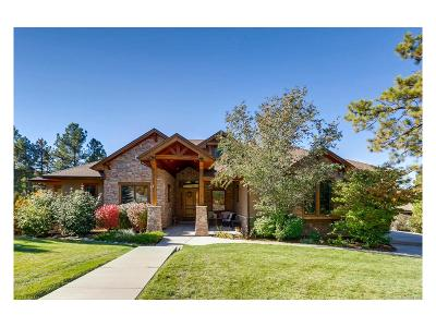 Castle Rock Single Family Home Active: 2640 Saddleback Drive