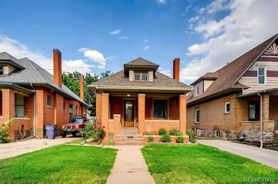 Denver Single Family Home Active: 2986 Grove Street