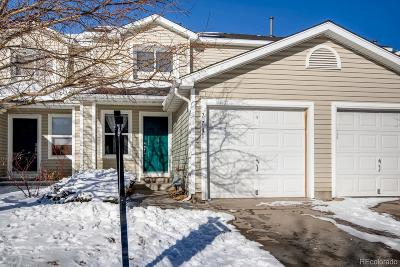 Englewood Condo/Townhouse Under Contract: 7781 South Kalispell Court