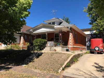 Single Family Home Under Contract: 1745 West 35th Avenue