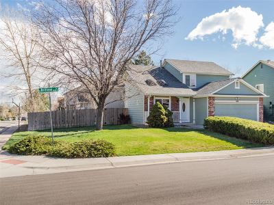 Littleton CO Single Family Home Under Contract: $405,000