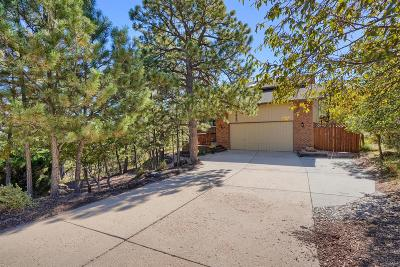 Colorado Springs Single Family Home Active: 1435 Oak Hills Drive
