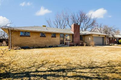 Wheat Ridge Single Family Home Under Contract: 4645 Garrison Street