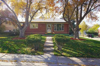 Denver CO Single Family Home Under Contract: $369,900