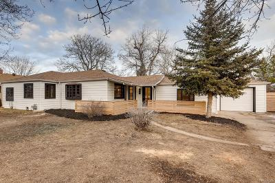 Wheat Ridge Single Family Home Under Contract: 3906 Quay Street