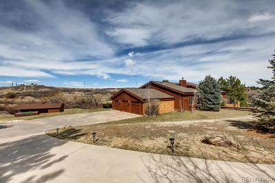 Castle Rock Single Family Home Active: 9027 Heather Drive